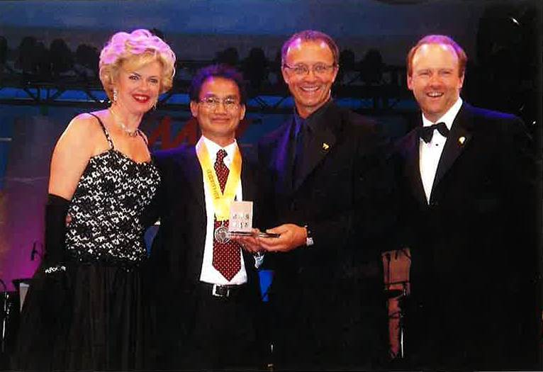 Bill In Award Ceremony with Remax Executives and CEO